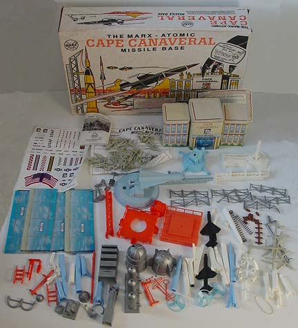 Marx Cape Canaveral  NASA Playset For Sale