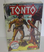 Aurora Tonto Comic Scenes  Mint Sealed Model Kit For Sale  1974